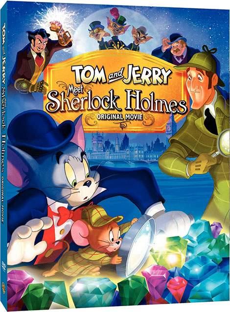 دانلود دوبله انیمیشین تام و جری ملاقات با شرلوک هولمز