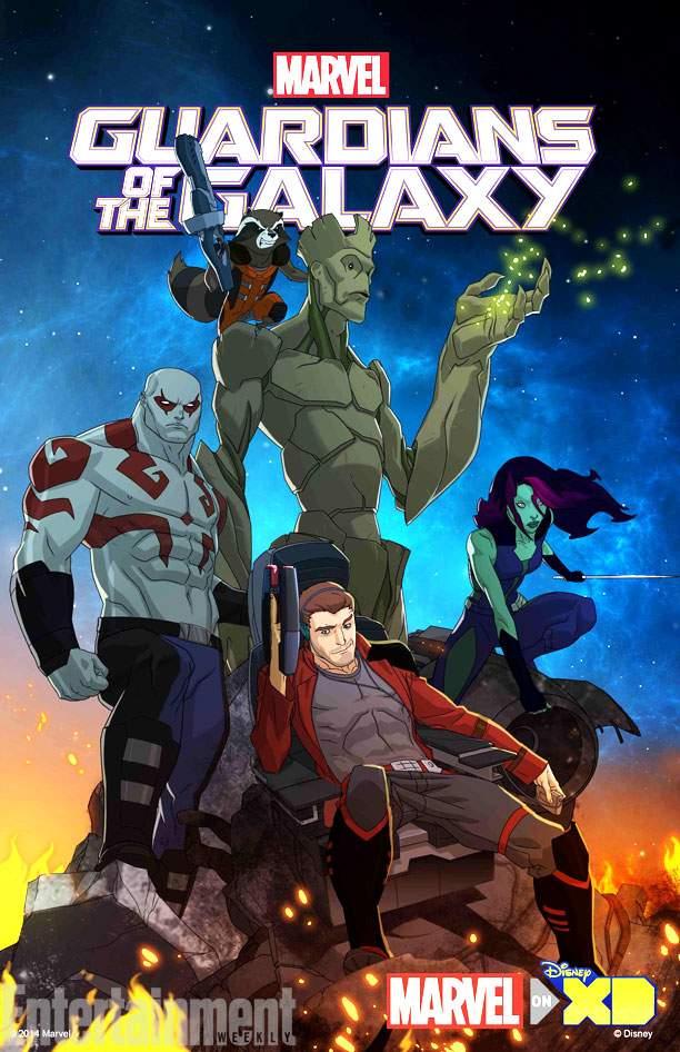دانلود رایگان فصل 1 انیمیشن نگهبانان کهکشان 2015