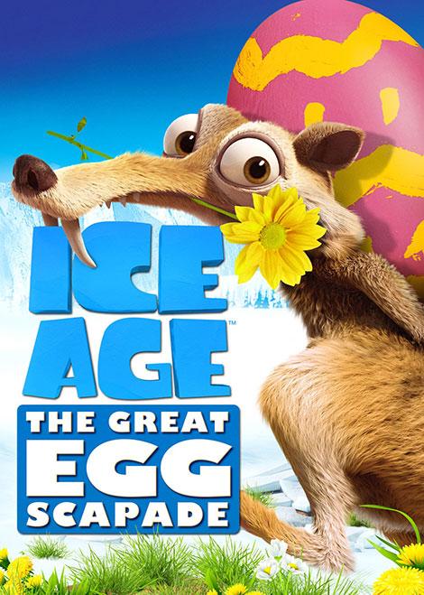 دانلود رایگان دوبله انیمیشن عصر یخبندان Ice Age Great Egg Scapade 2016