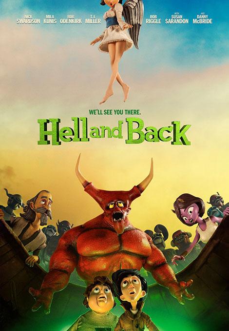 دانلود رایگان دوبله پارسی انیمیشن پشت پرده جهنم Hell and Back 2015