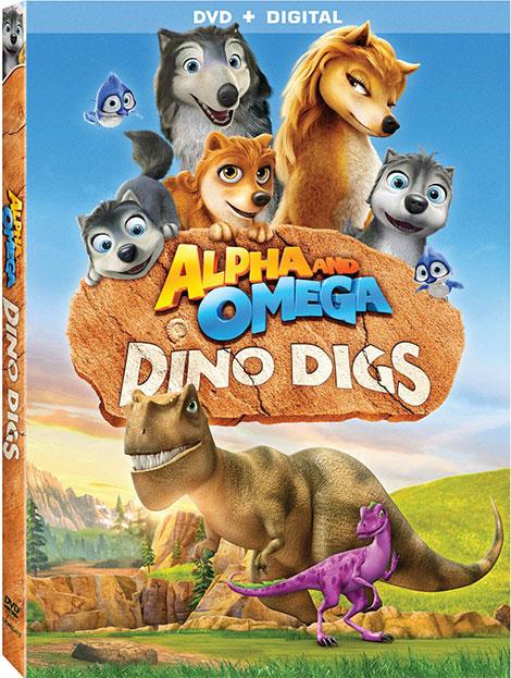 دانلود رایگان دوبله انیمیشن آلفا و امگا Alpha and Omega Dino Digs 2016