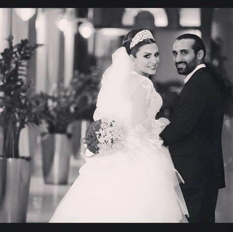 ماهچهره خلیلی و همسرش