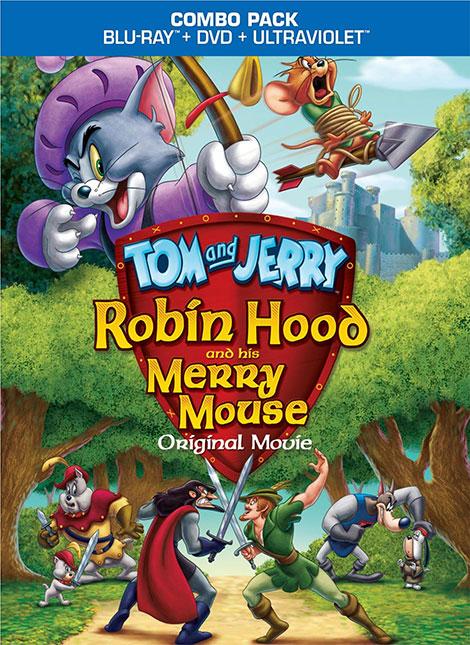 دانلود رایگان دوبله انیمیشن تام و جری رابین هود موش خوش شانس Tom Jerry