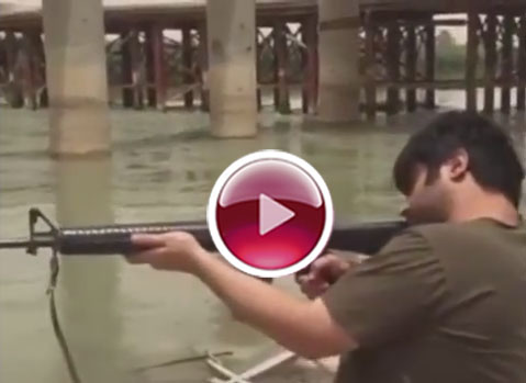 تهدید امیر نوری توسط داعش +عکس و دانلود فیلم ویدیویی
