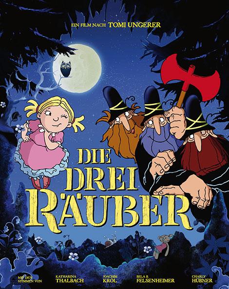 دانلود رایگان دوبله دوزبانه انیمیشن سه راهزن The Three Robbers 2007