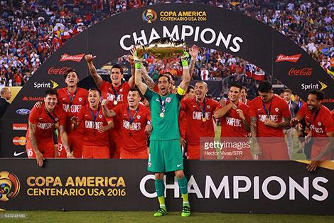دانلود رایگان مراسم جشن قهرمانی جام ملتهای امریکا Copa America 2016