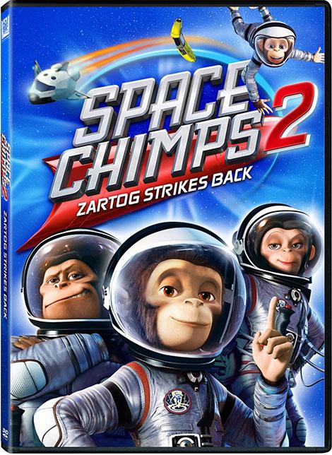 دانلود رایگان دوبله دوزبانه انیمیشن میمون های فضایی2 Space Chimps 2010