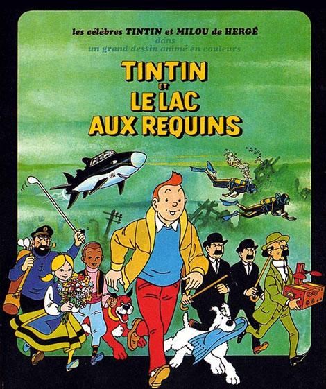 دانلود رایگان دوبله دوزبانه انیمیشن Tintin and the Lake of Sharks 1972