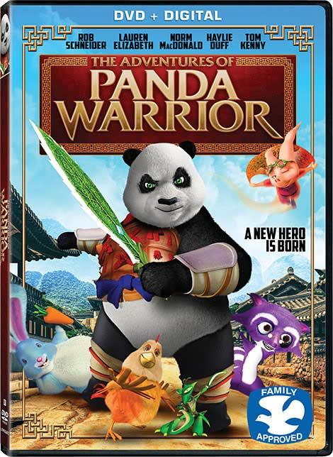 دانلود رایگان دوبله انیمیشن پاندا The Adventures of Panda Warrior 2016
