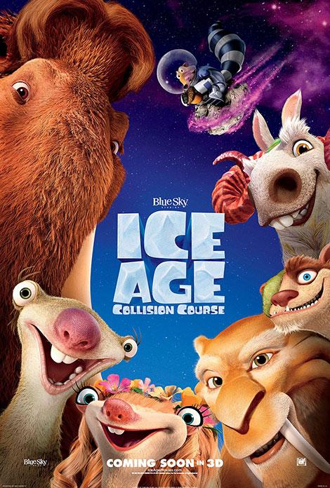 دانلود رایگان دوبله انیمیشن عصر یخبندان Ice Age Collision Course 2016